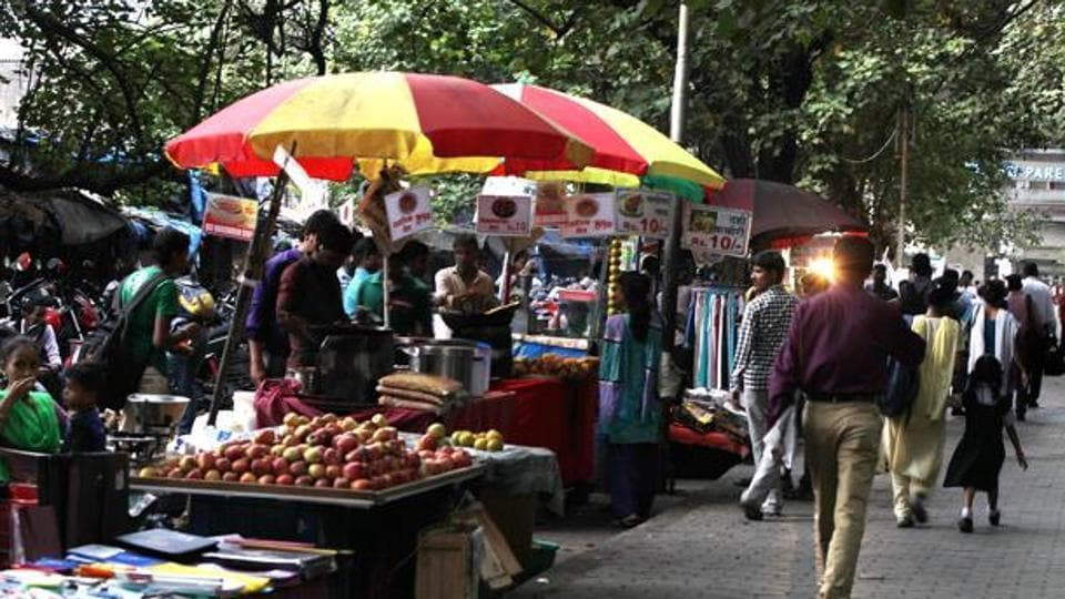 The civic body has proposed to increase the number of hawkers in Mumbai from 22,097 to 89,797.