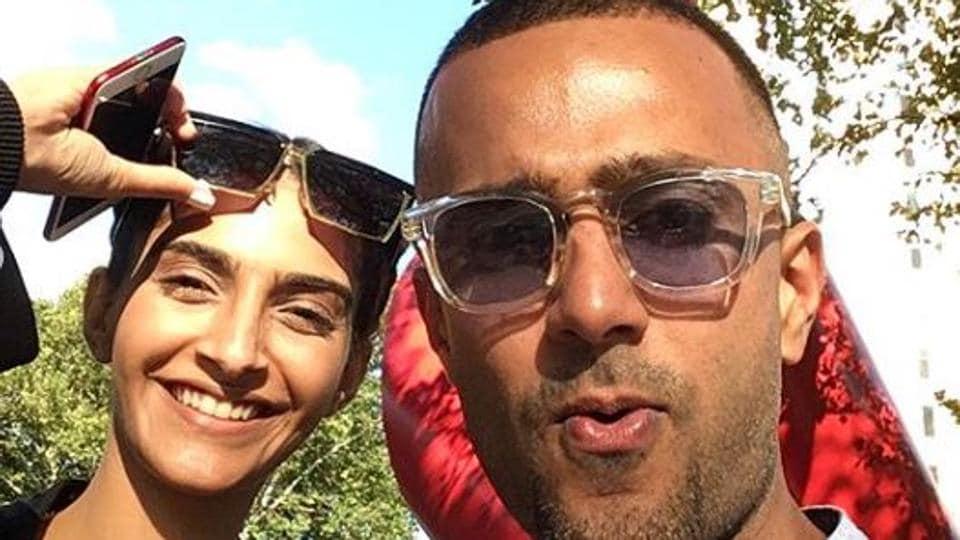Sonam Kapoor with rumoured boyfriend Anand Ahuja.
