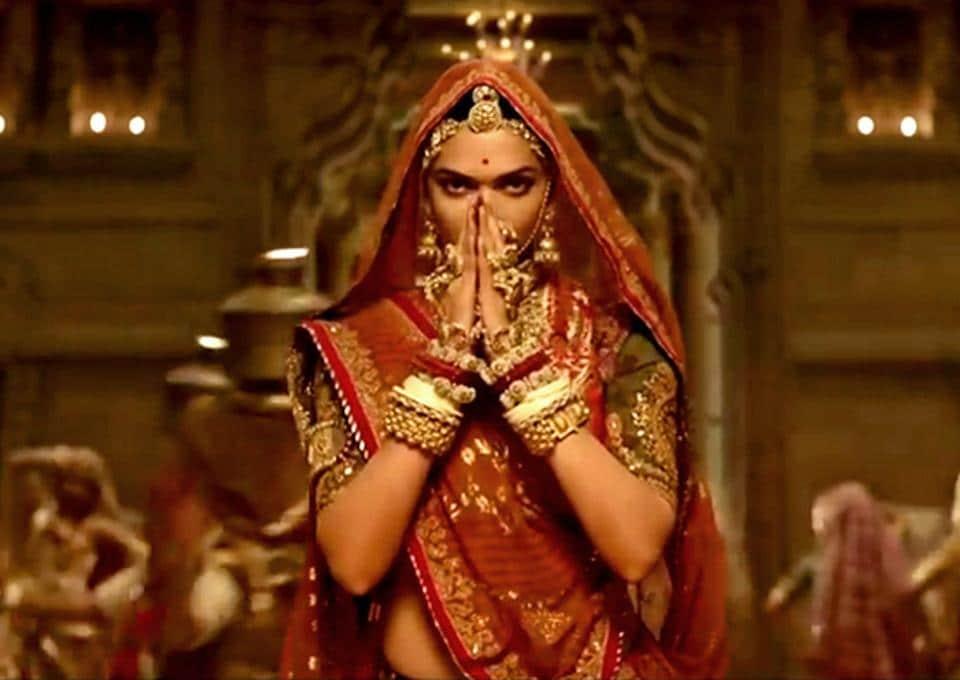 Padmavat stars Deepika Padukone as Rajput queen Rani Padmini.