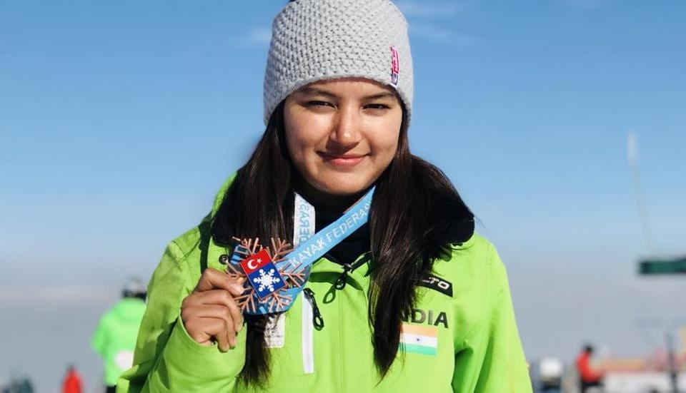 Manali woman Aanchal Thakur secures India's first global medal in skiing