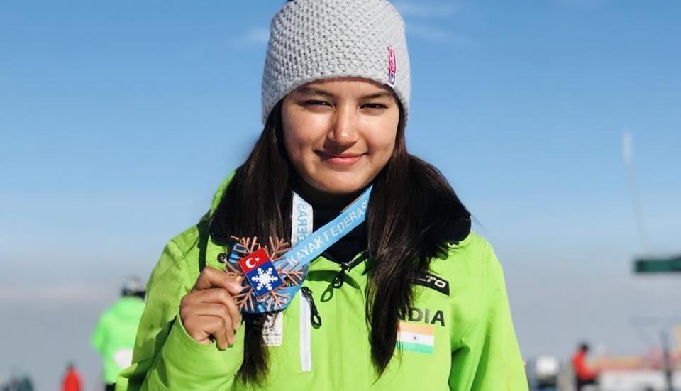 Aanchal Thakur,Alpine Ejder 3200 Cup,2018 Winter Olympics