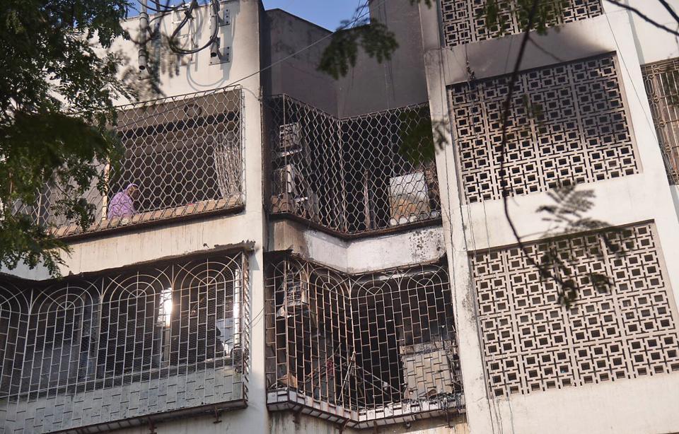Mumbai news,Marol fire,four killed