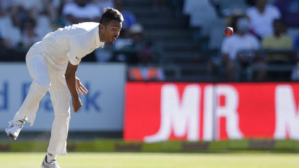 Indian all-rounder Hardik Pandya impressed both with the bat and ball in the first Test against South Africa at Newlands.
