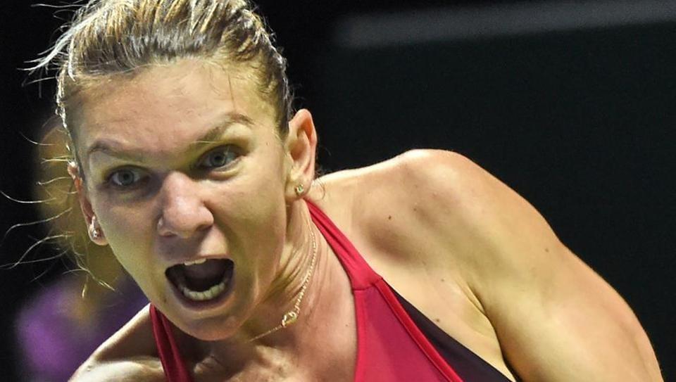 Simona Halep,Caroline Wozniacki,Australian Open