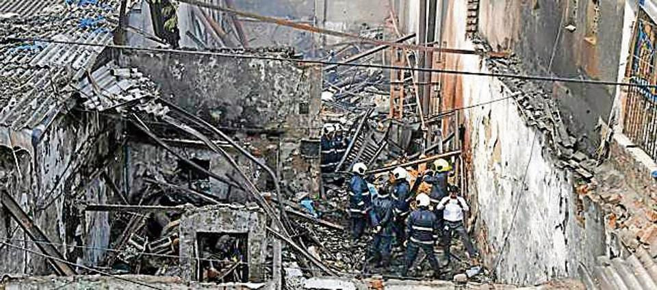 A fire at a at  a snack-making  company at Khairani Road in Sakinaka killed 12 workers.