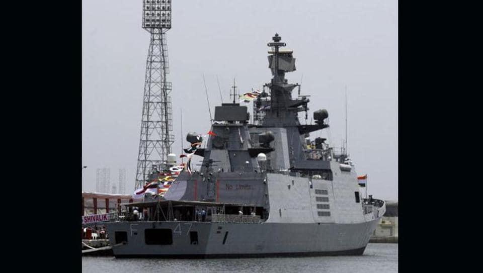 INS Shivalik,Eastern Naval Command,Fire onboard INS Shivalik