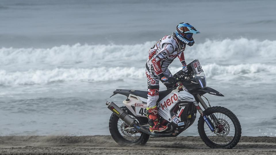 Dakar Rally 2018,CS Santosh,KP Aravind