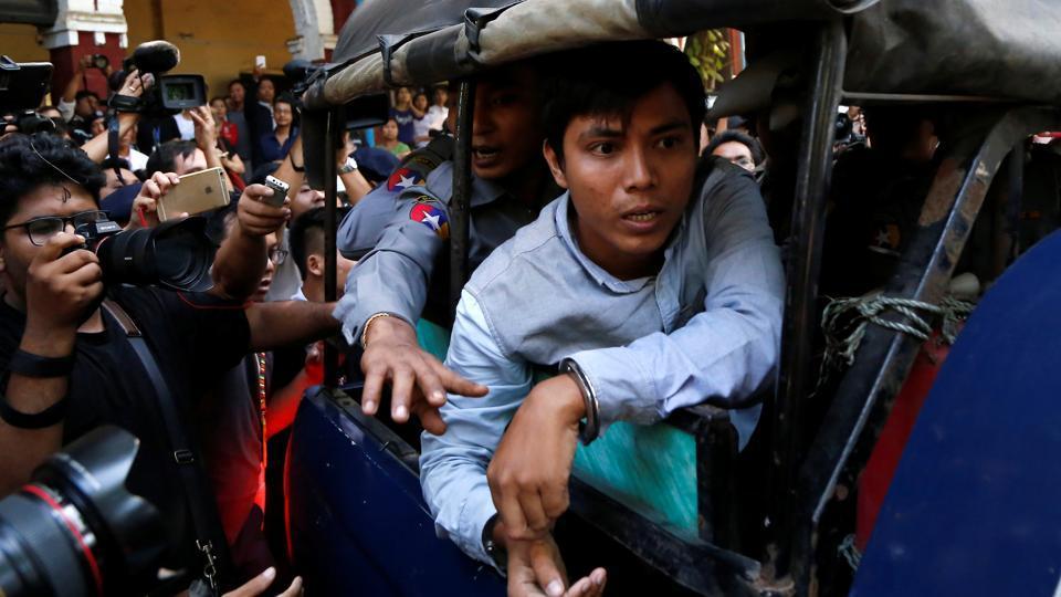 Myanmar prosecutor,Official Secrets Act,Reuters journalists