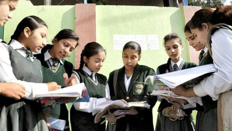 File photo of Class 12 students before a CBSE exam in Moradabad. for 2018, the Board has scheduled three exams without a break from April 5 to 7 for students of the humanities stream.