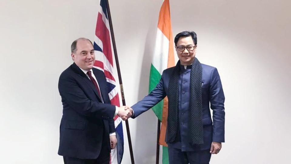 Vijay Mallya,Kiren Rijiju,India UK ties