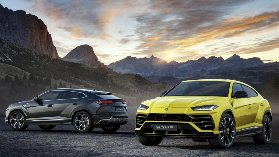 Urus is 5,112mm long, 2,016mm wide and 1,638mm high, with a wheelbase of 3,003mm. Lamborghini says the SUV has a kerb weight of less than 2,200kg, with the chassis using aluminium and steel to maximise stiffness.