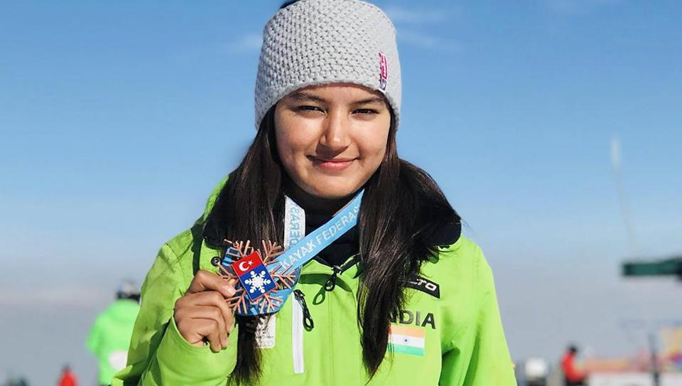 Aanchal Thakur became the first Indian to win a medal at an international skiing event.