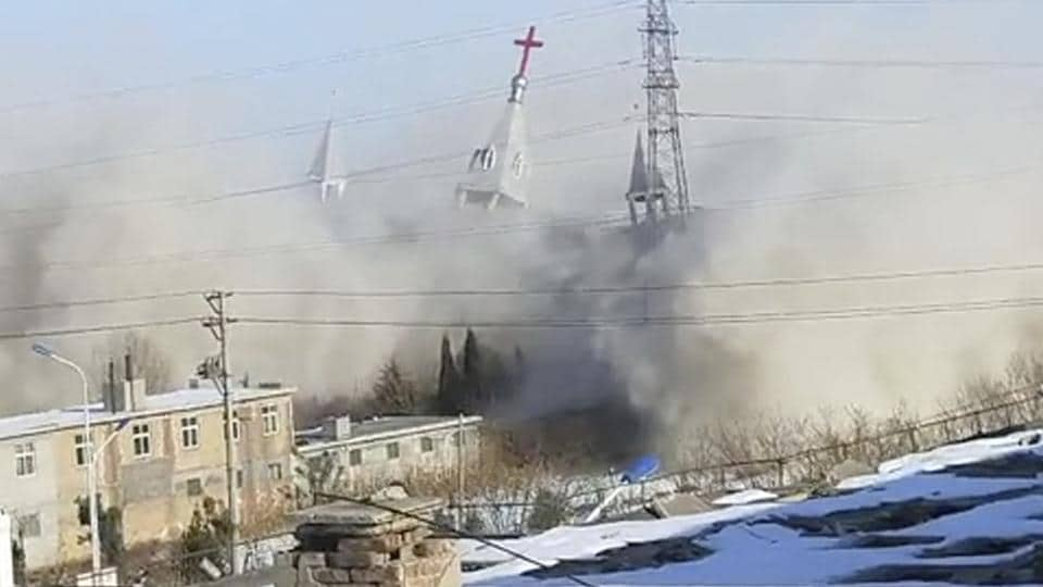 China Church Demolition,China,Church