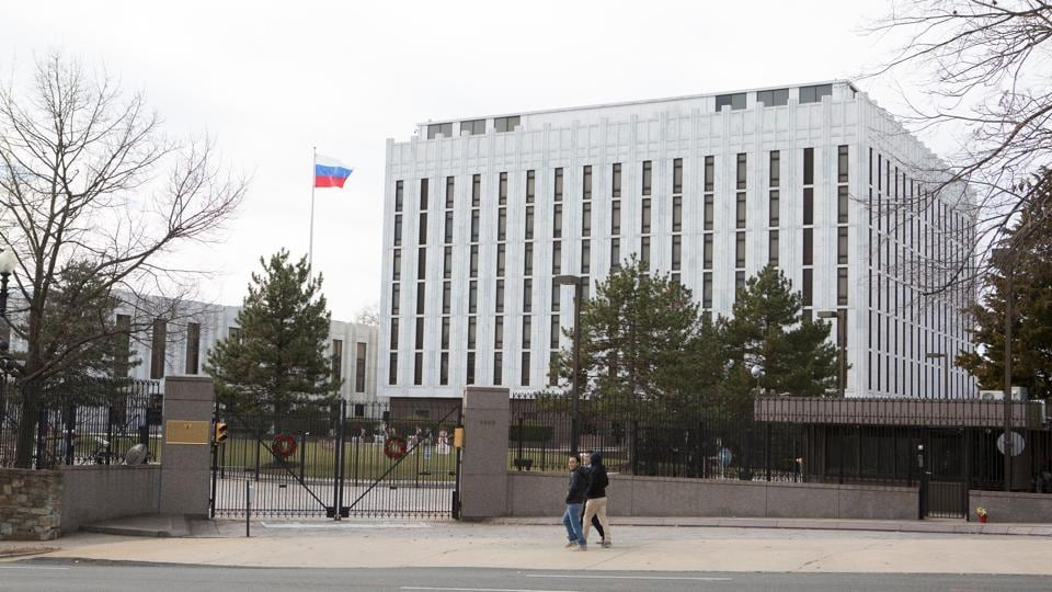Russia,United States of America,Russian Embassy