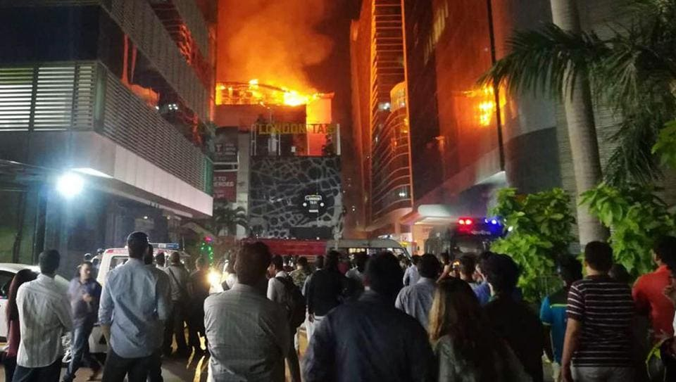 Fourteen people were killed and as many injured after a major fire in Kamala Mills Compound in Lower Parel on December 29, 2017.