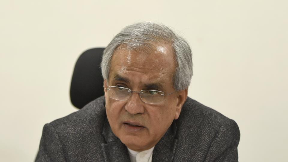 Niti Aayog vice-chairman Rajiv Kumar.
