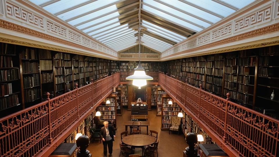 The Leeds Library, founded in 1768, is the oldest surviving example of a proprietary subscription library in the British Isles – a kind of library created, owned and run by its members. In 2018, the library enters its 250th year in operation and has a year of celebrations lined up. (Ian Forsyth / Getty Images)