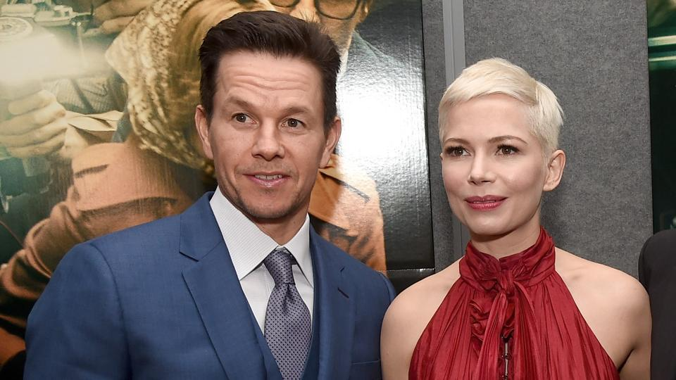 Mark Wahlberg, Michelle Williams attend the premiere of Sony Pictures Entertainment's All The Money In The World at Samuel Goldwyn Theatre.