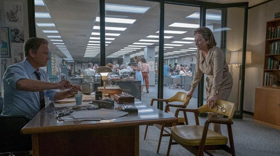 Steven Spielberg delivers old-school pleasures with The Post