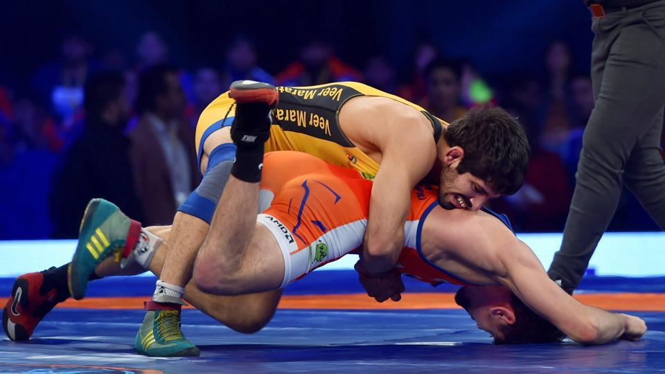 UP Dangal won 4-3 against Punjab Royals in their Pro Wrestling League match on Thursday.