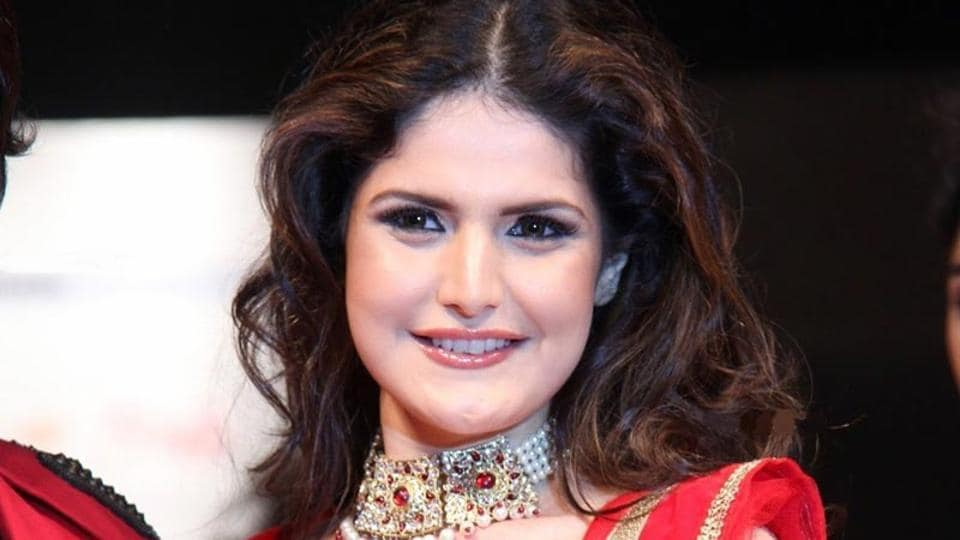 Zareen Khan debuted in Bollywood with Veer.