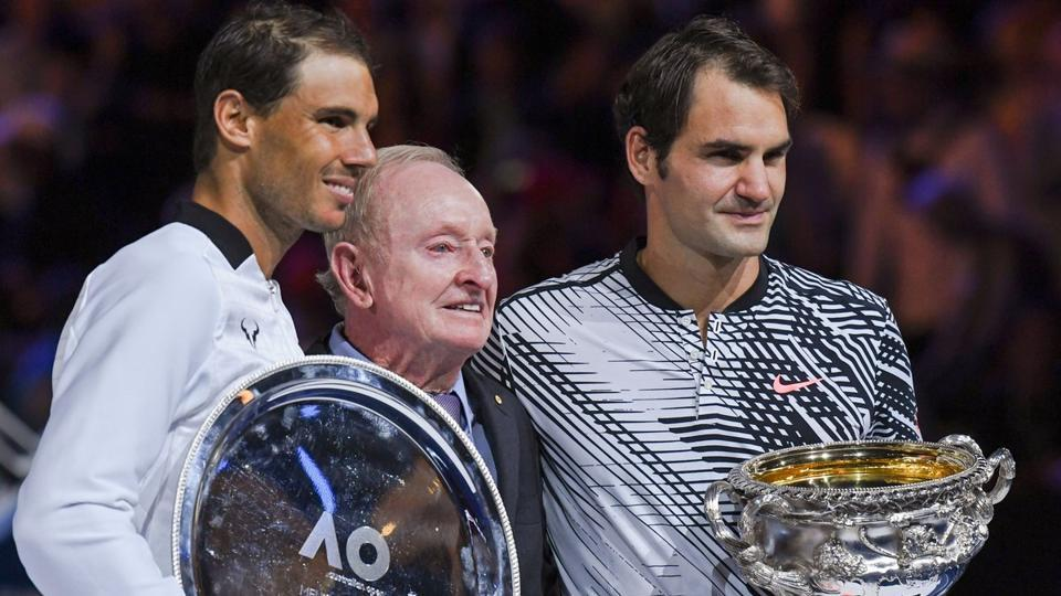 Roger Federer registered a thrilling 6-4, 3-6, 6-1, 3-6, 6-3 win over his old foe Rafael Nadal in the Australian Open tennis final last year.