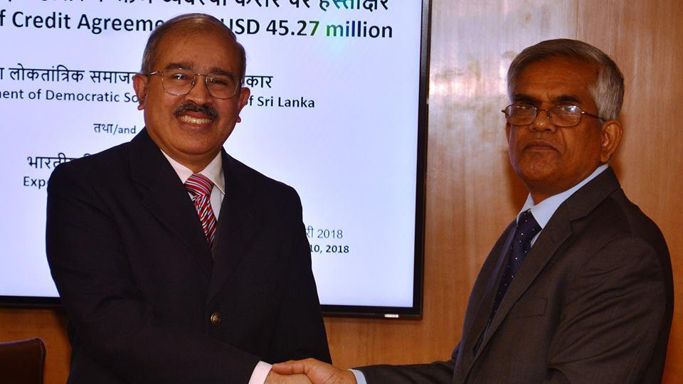 An agreement for Indian financial assistance for $ 45.27 million for upgrading Kankesanthurai Harbour was signed in New Delhi.