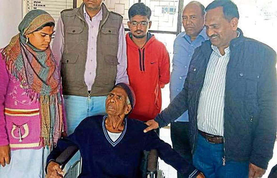 70-year-old woman,Pannabai Abir,rescued