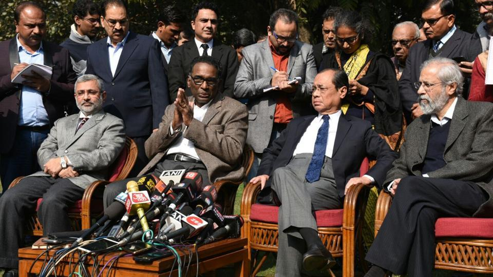 Image result for Chelameswar with d raja