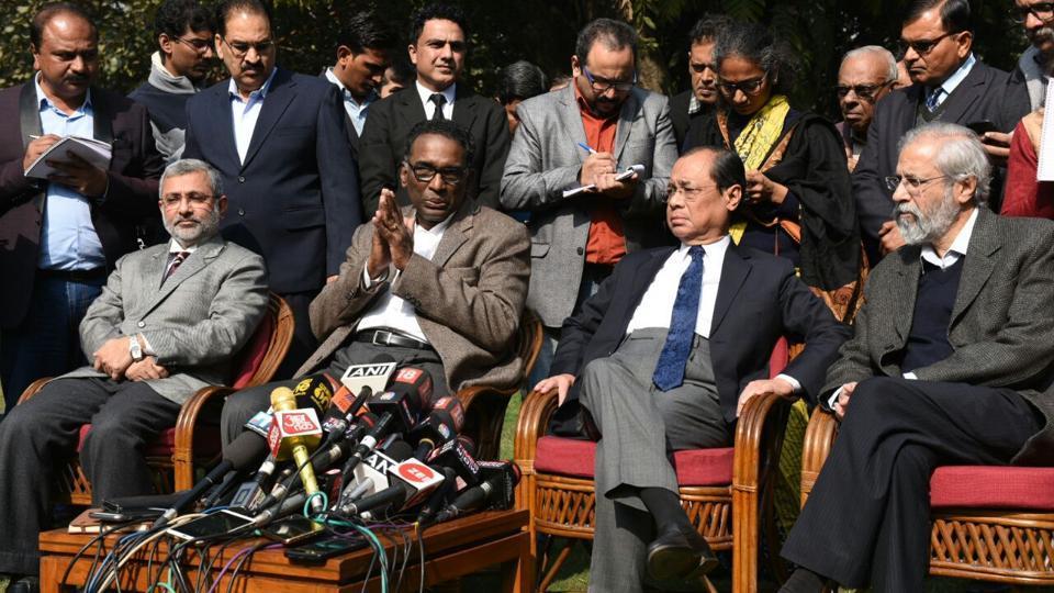 Supreme Court,SC judges press conference,Live updates