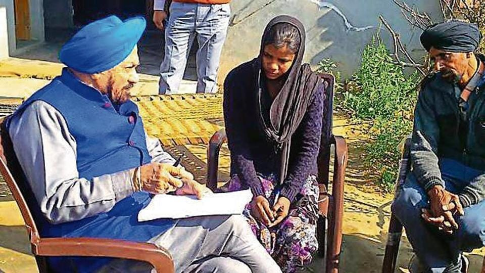 Caste bias at Nabha,Nabha school,Dalit girl at Tohra