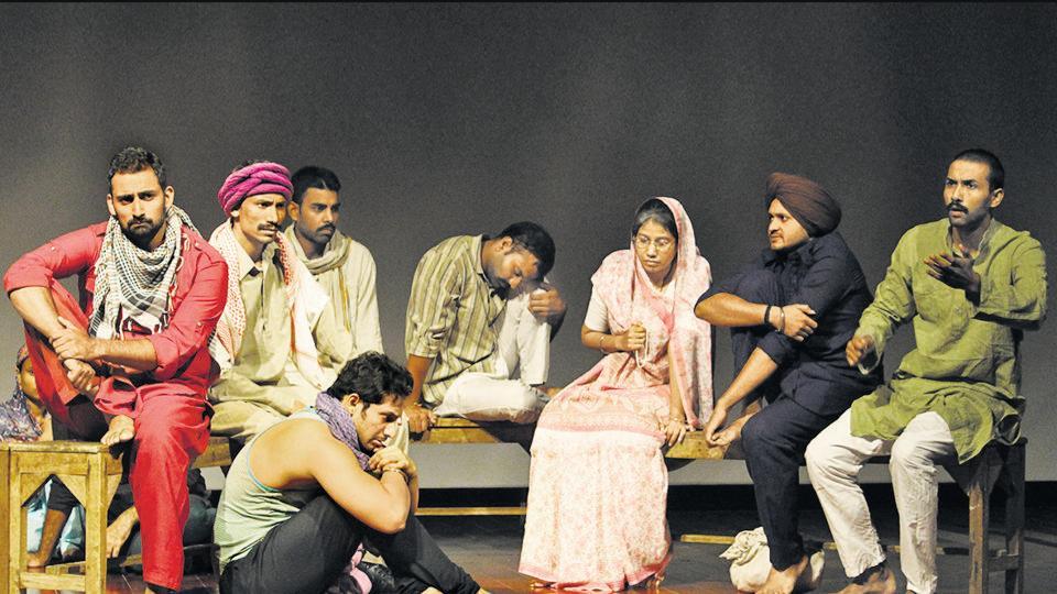 A scene from the play Amritsar Aa Gaya.