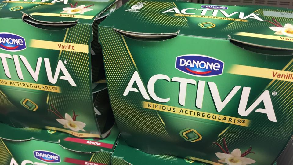 French dairy company Danone SA will discontinue stock keeping units which have been making a minority contribution to its overall business in India.
