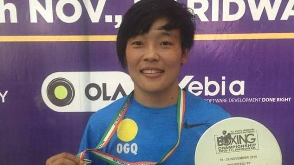 Sarjubala Devi edged past Haryana's Ritu 3-2 to clinch Manipur's lone gold medal and her second successive national title.