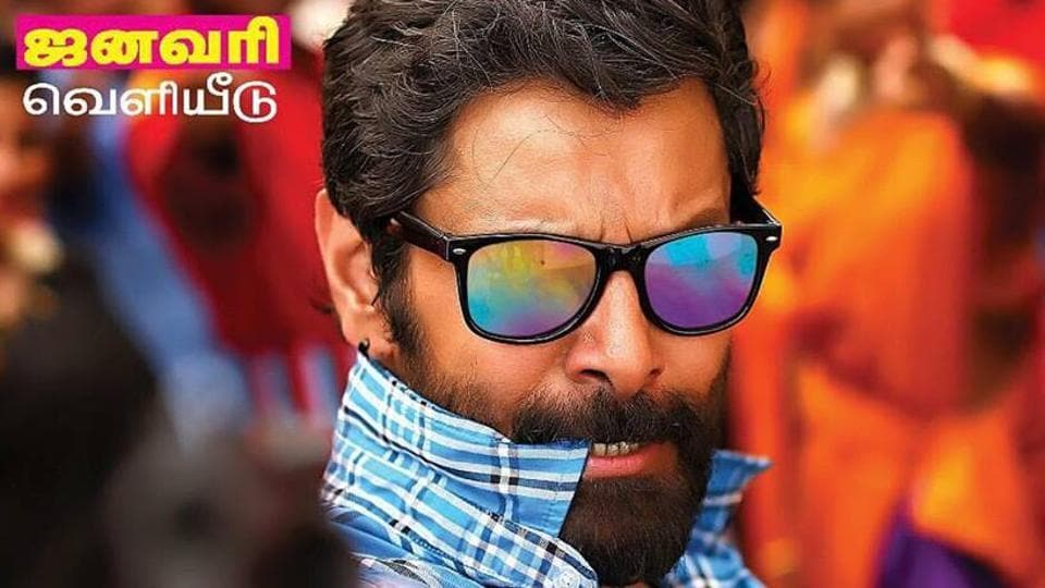 Vikram in Sketch will remind one of his older films like Gemini and Rajapattai.