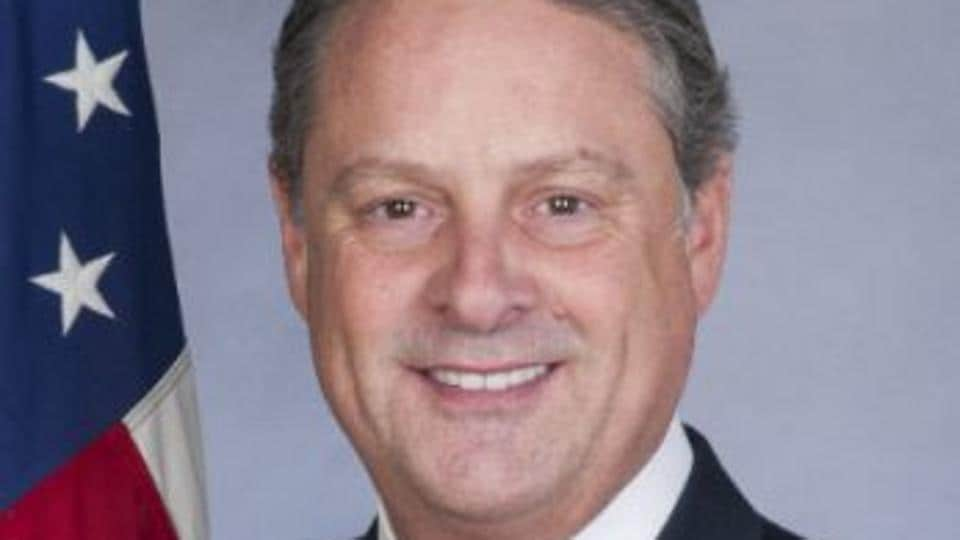 File photo of the US ambassador to Panama, John Feeley, a career diplomat who was appointed to the post by former president Barack Obama in 2015.