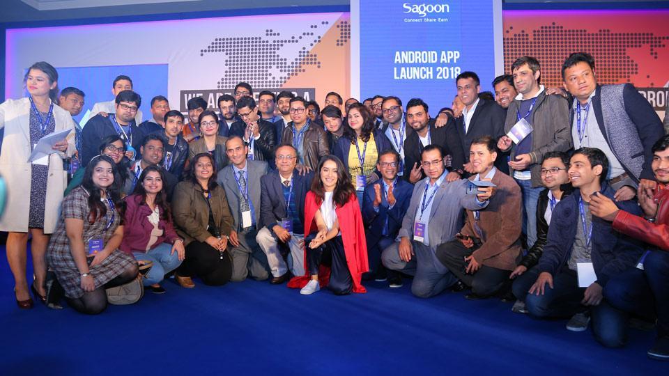 Sagoon.com,Shraddha Kapoor,App launch