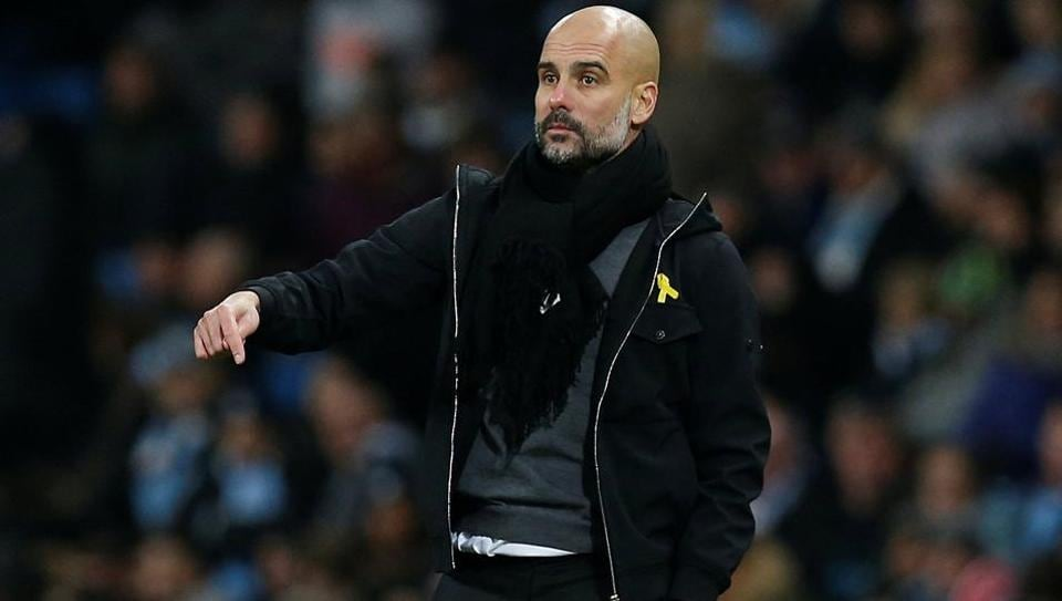 Manchester City manager Pep Guardiola has won the Premier League's Manager of the Month for the fourth consecutive time .