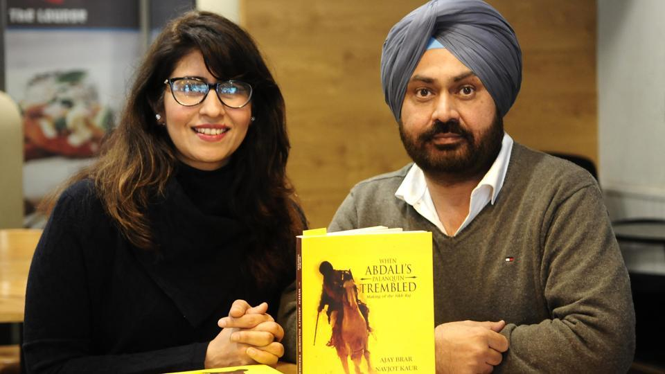 The book is penned by the brother-sister duo of Ajay Brar (right) and Navjot Kaur.