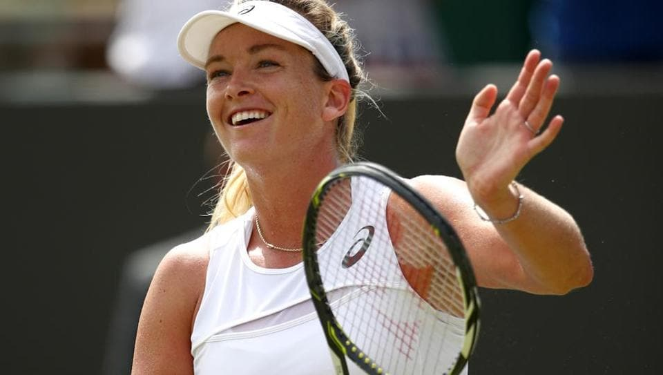 Coco Vandeweghe of the United States feels the biggest misconception about her is that she is arrogant.