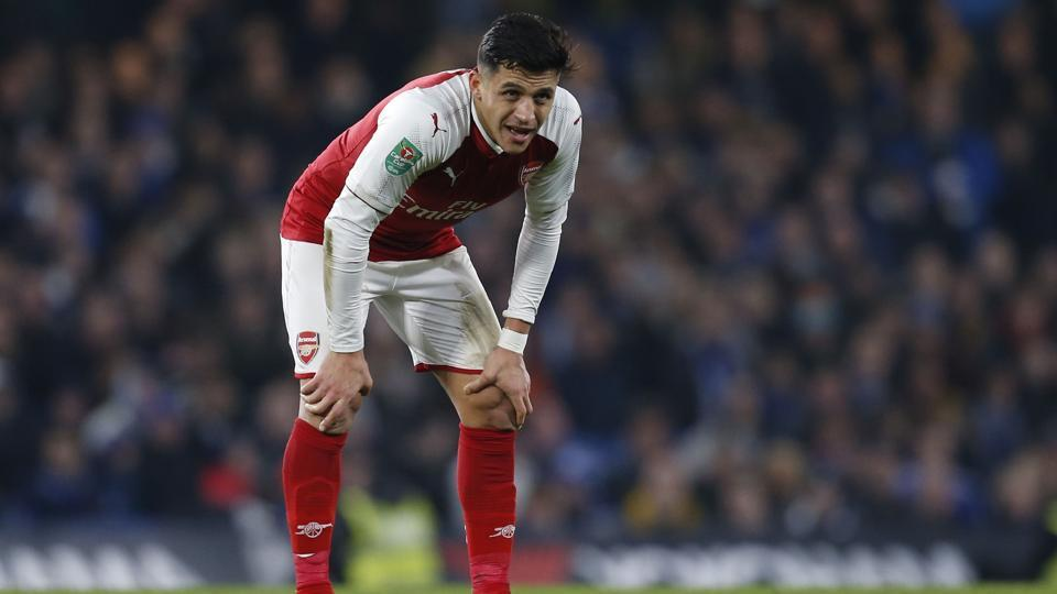 Alexis Sanchez is apparently wanted by both Manchester United and Manchester City, but Arsenal manager Arsene Wenger has denied that the two Premier League sides are in a bidding war for the forward.