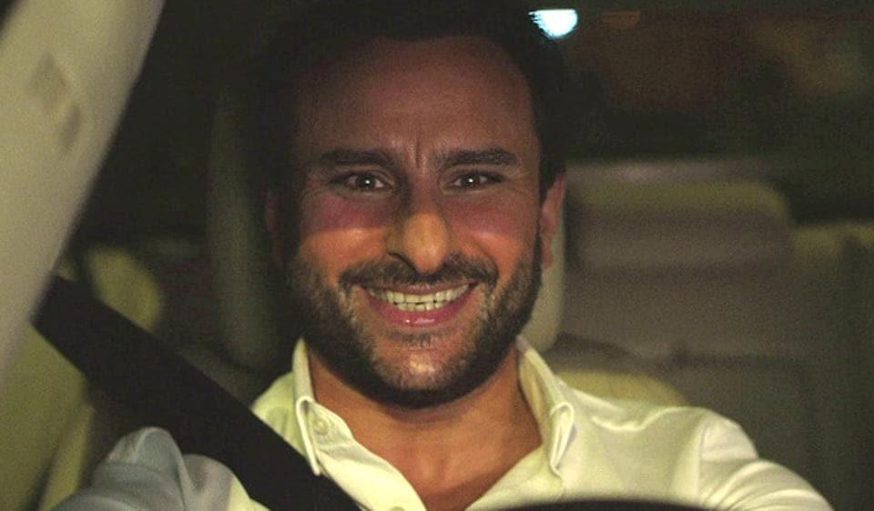 Saif Ali Khan plays the lead character in Kaalakaandi.