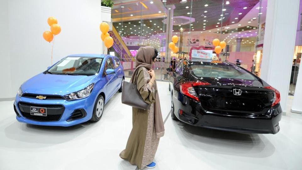 Saudi Arabia opens its first women-only car showroom in Jeddah ...