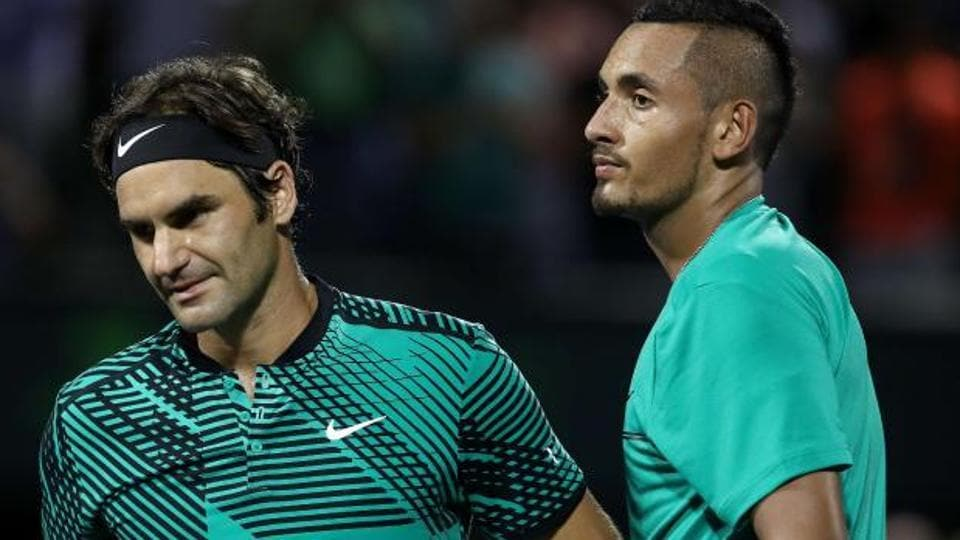 Roger Federer hailed NickKyrgios as the next big thing ahead of the Australian Open tennis tournament.