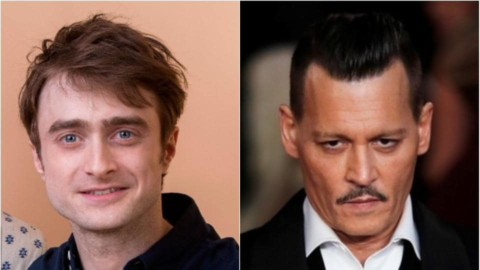 Daniel Radcliffe isn't happy with Johnny Depp as Gellert Grindelwald in the Fantastic Beasts franchise.