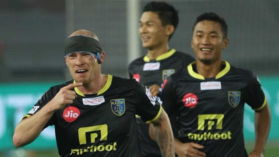 After a 1-3 loss to Bengaluru FC at home, Kerala Blasters FC's Indian Super League (ISL) campaign was revived after an Iain Hume (left) hat-trick gave them a 3-0 win over Delhi Dynamos. Blasters would be hoping Hume comes good again in the away fixture against Mumbai City FC on Sunday.