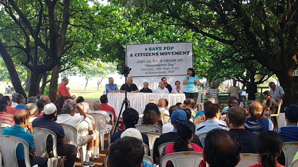 The 20-acre park is maintained by the Malabar Hill Citizens Forum.