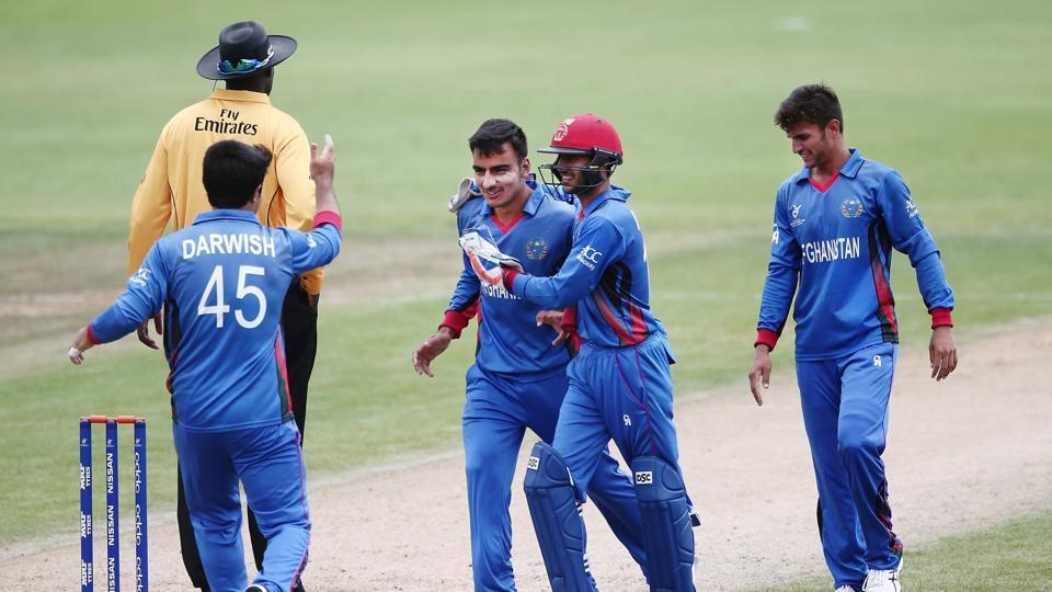 Afghanistan defeated Pakistan by five wickets in their ICCU-19 Cricket World Cup opener on Saturday.
