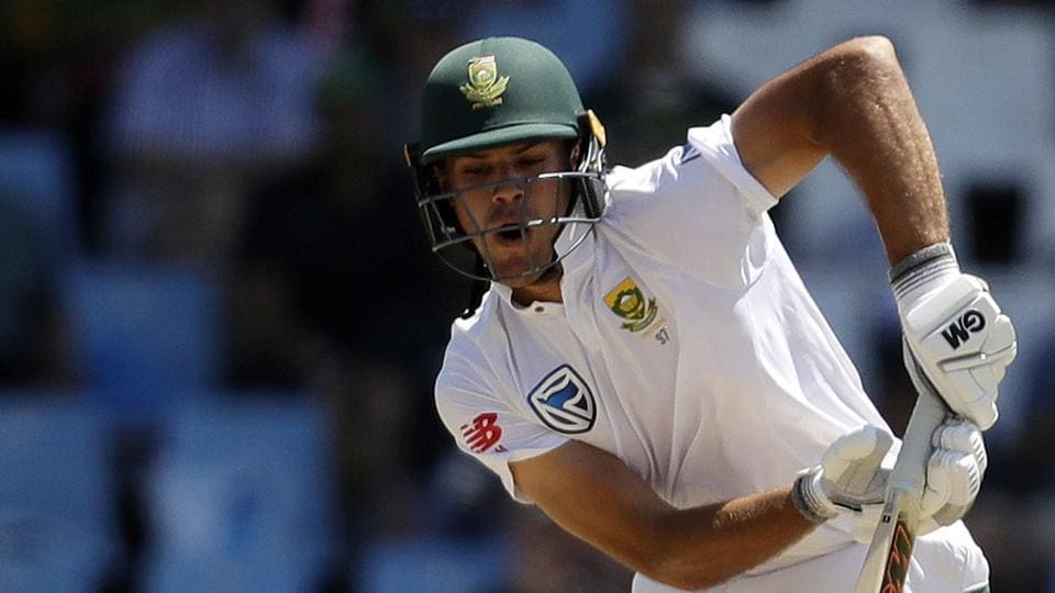 Aiden Markram in action during the first day of the second Test between South Africa and India at the Supersport park Cricket Ground in Centurion.
