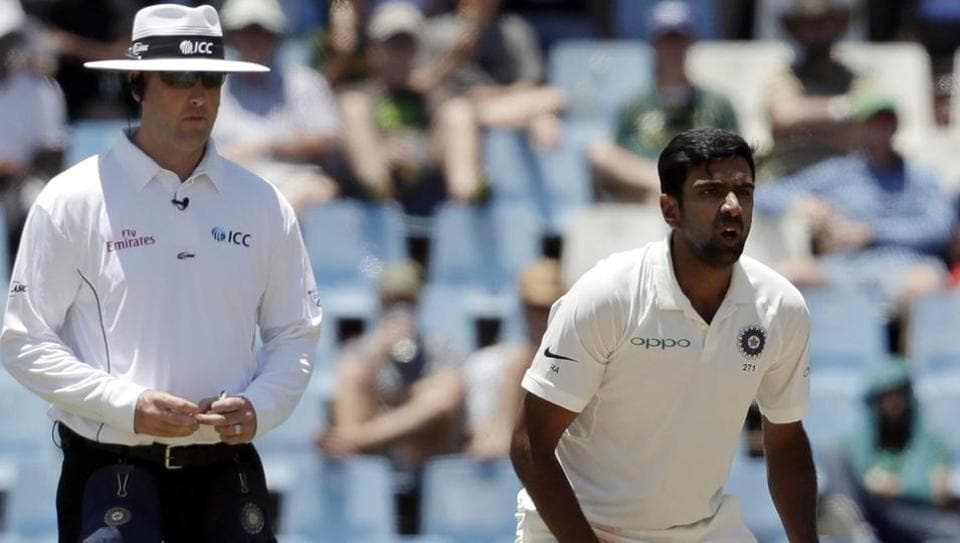 R Ashwin was at his effective best on Day 1 of the second Test between India and South Africa in Centurion, snapping up three important wickets.